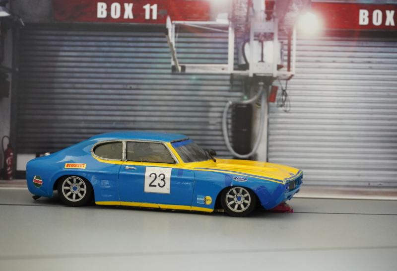Volvo 240 und Forad Capri 'Röhrl'